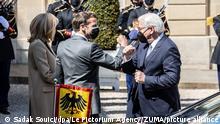 Frankreich Bundespräsident Steinmeier zu Gast in Paris