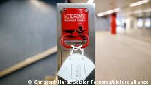 Deutschland Symbolfoto Corona-Pandemie Notbremse