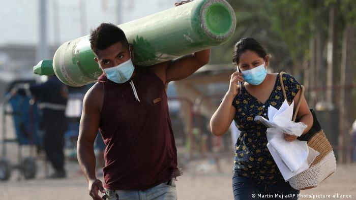 Peru Corona-Pandemie LIma