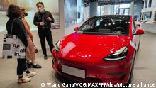 China I Tesla Store in Shanghai
