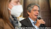 Guillermo Lasso nach der Wahl in Ecuador