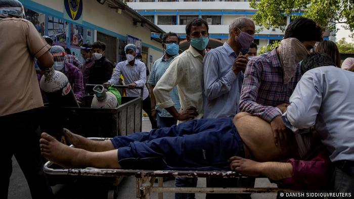 Упродовж останніх тижнів кількість інфікованих коронавірусом в Індії стрімко зросла