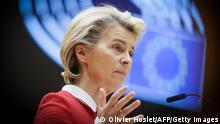 Belgien Brüssel | Europaparlament: Ursula von der Leyen