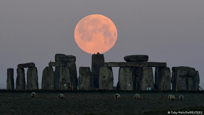 El monumento megalítico Stonehenge, en el Reino Unido.