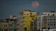 Supermoon Weltweit | Kuba, Havana | Tableau 27.04.21
