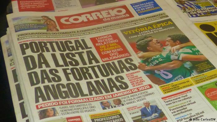 Portugal | Tageszeitung zu Angola
