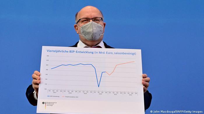 Niemiecki minister gospodarki ma dobre prognozy, ale nie dla wszystkich branż