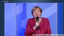Die Kanzlerin im Gespräch mit Kunst- und Kulturschaffenden am 27.04.21