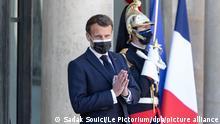 Frankreich Kongo Felix Tshisekedi und Emmanuel Macron