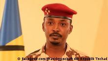 Tschad | Mahamat Idriss Déby, Präsident des Transitional Military Council (CMT)