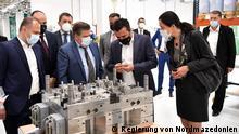 27.04.2021+++Eröffnung einer neuen Fabrik von Gerresheimer in Nordmazedonien