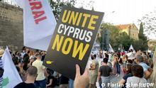 27/04/2021 Viele Zyprioten wünschen sich, dass die Teilung der Insel aufgehoben wird.