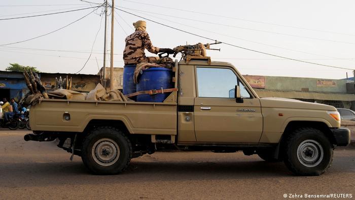 Tschad N'Djamena | Sicherheitskräfte patrouillieren