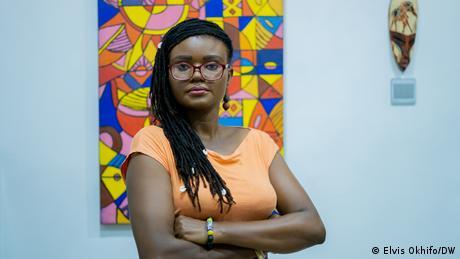Freedom of Speech Award 2021 winner Tobore Ovuorie of Nigeria
