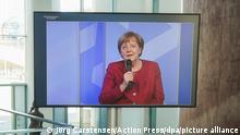 Merkel im Gespräch mit Kunst- und Kulturschaffenden