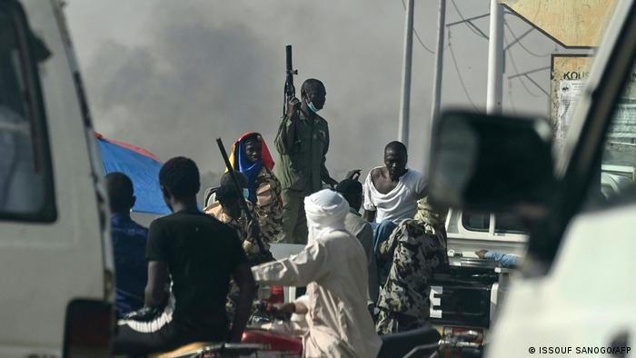 Protestas en Chad.