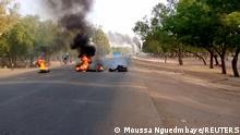 Tschad N'Djamena   Proteste und Gewalt