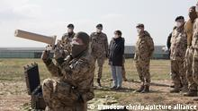 Kramp-Karrenbauer bei deutschen Soldaten in Afghanistan