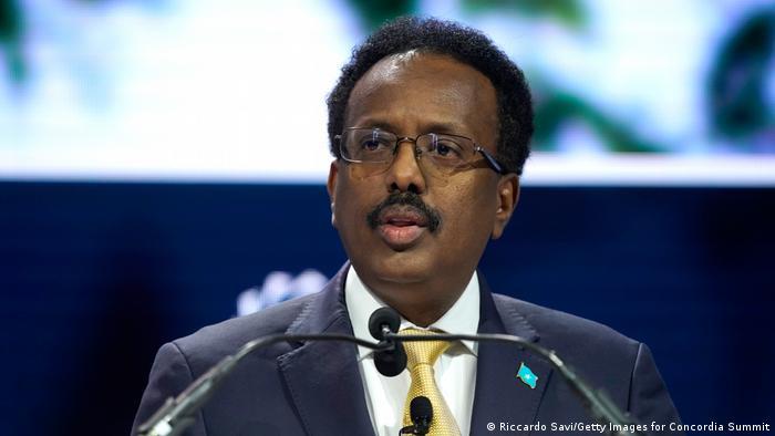 Somalia Präsident Mohamed Abdullahi Mohamed