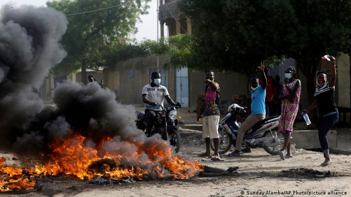 Manifestation au Tchad le 28 avril