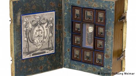 Один из двух десятков книжных тайников в Библиотеке герцогини Анны Амалии