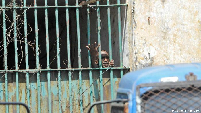 Près de 400 opposants sont incarcérés à la prison centrale de Conakry (image d'archives)