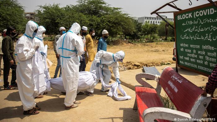 Indien Coronavirus Krise neu