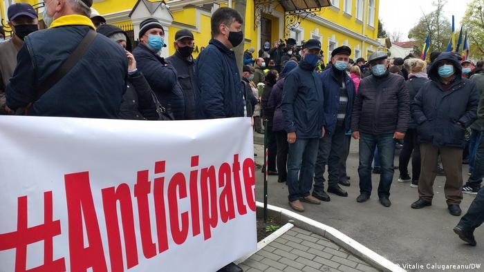 Demonstranți la Chișinău (miercuri, 28 aprilie)
