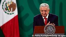 Mexiko Präsident Lopez Obrador