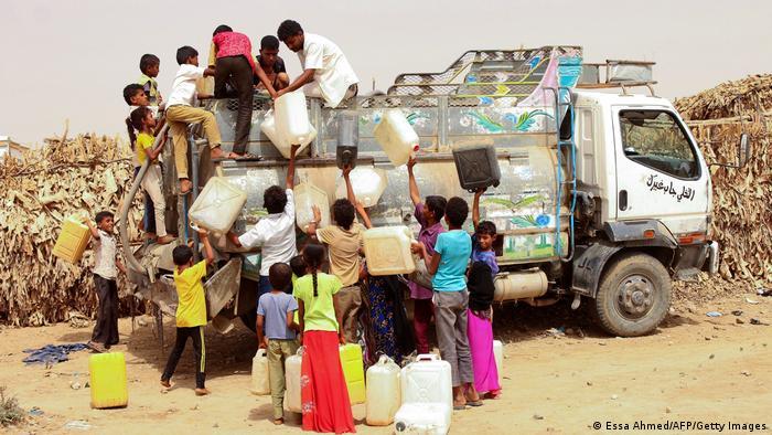 اليمن من أكثر البلدان التي تعاني من ندرة المياه في العالم