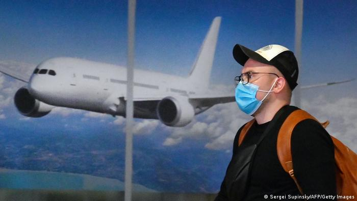 український турист в аеропорту Бориспіль