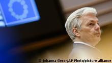 EU; Parlament; Abgeordnete; Brüssel; Politik; Didier Reynders
