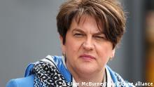Arlene Foster, Nordirische Regierungschefin kündigt Rücktritt an