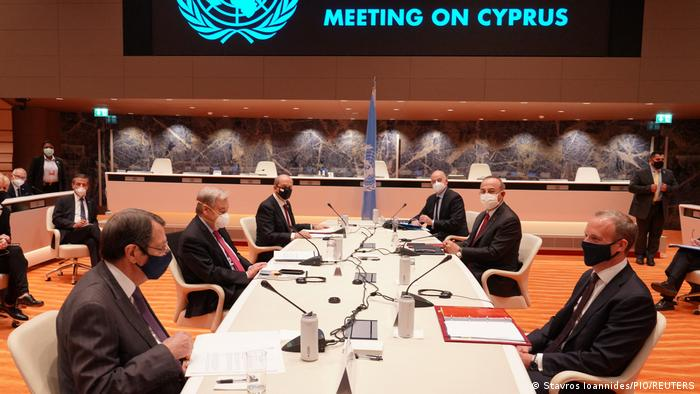 Schweiz Genf | Zypern-Verhandlungen