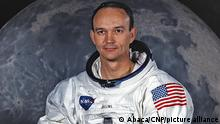 File photo - Houston, TX - -- Portrait of Michael Collins, Command Module (CM) Pilot of Apollo 11 Lunar Landing Mission taken on May 1, 1969. Apollo 11 was Collins' second and final trip to space. He previously piloted the Gemini 10 mission on July 18, 1966. On that mission Collins completed two periods of extravehicular activity (EVA). Apollo 11 launched on July 16, 1969. Collins remained in Lunar orbit aboard the CM Columbia, while his crew mates Neil Armstrong and Buzz Aldrin landed on the Moon.. --- American astronaut Michael Collins, who flew the Apollo 11 command module while his crewmates became the first people to land on the Moon on July 20, 1969, died on Wednesday after battling cancer, his family said. Photo by NASA via CNP /ABACAPRESS.COM