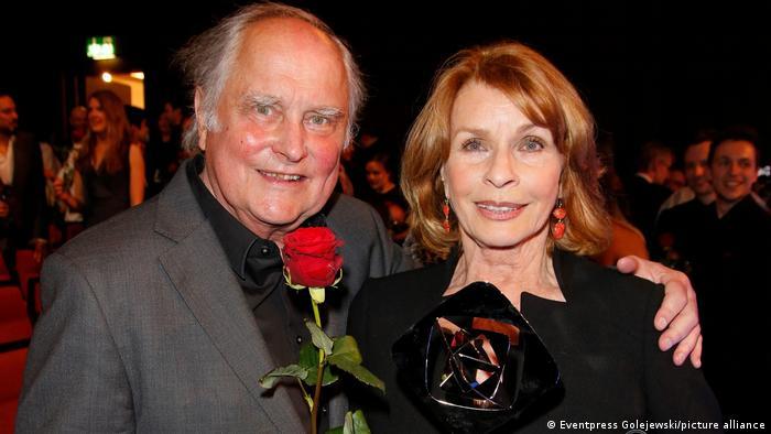 Michael Verhoeven und Senta Berger bei der Grimme-Preisverleihung
