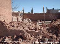 عکس از  آرشیو؛ تخریب خانه یک خانواده بهایی در شهر آباده در سال ۱۳۸۶