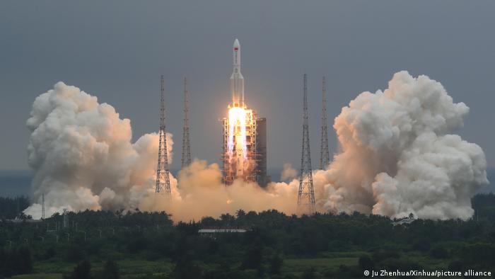 China Wenchang Spacecraft Launch Site | Raketenstart