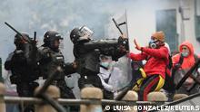 Kolumbien Bogota | Proteste und Gewalt wegen Steuerreform