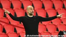 Pep Guardiola - entraineur Man City FOOTBALL : PSG vs Manchester City - 1/2 finale aller - UEFA ligue des champions - 28/04/2021 JBAutissier/Panoramic PUBLICATIONxNOTxINxFRAxITAxBEL