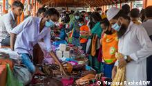 Many shoppers were seen flouting health safety rules and ignoring social distancing. As shops and shopping malls have reopened their doors, on condition of strictly following Covid-19 guidelines amid lockdown, many people were in a rush to complete their shopping ahead of Eid-ul-Fitr.