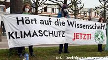 Bundesverfassungsgericht urteilt zum Klimaschutzgesetz | Protest Fridays for Future