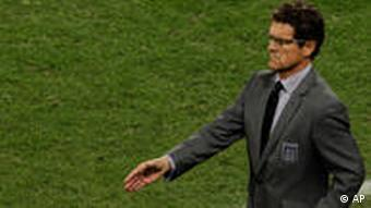 Englands Trainer Fabio Capello (Foto: AP)