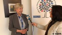 Ambassador Urzula Gacek , Head of ODIHR international observers mission in DW interview on Parliamentary Election 2021.