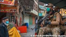 Pakistan | Coronavirus | Militär-Patrouillen zur Einhaltung der Restriktionen