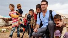 syrischer Flüchtling Anas Khabir