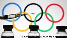 Symbolbild Olympische Spiele Covid-19 Impfung