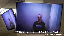 Russland Prozess Alexej Nawalny