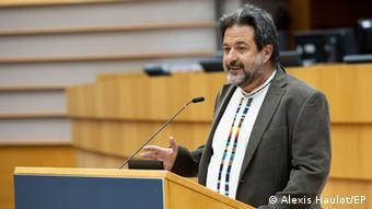 Manu Pineda, eurodiputado, integrante de la comisión de Exteriores, de Eurolat y de la delegación para las relaciones con Chile