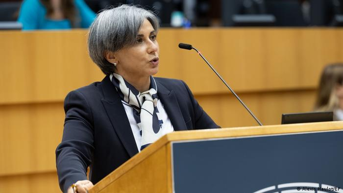 Eurodeputada portuguesa Isabel Santos